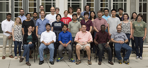 JHU Summer School group photo 2016