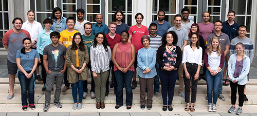 JHU Summer School group photo 2018