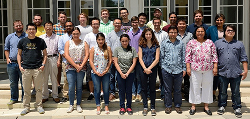 JHU Summer School group photo 2017