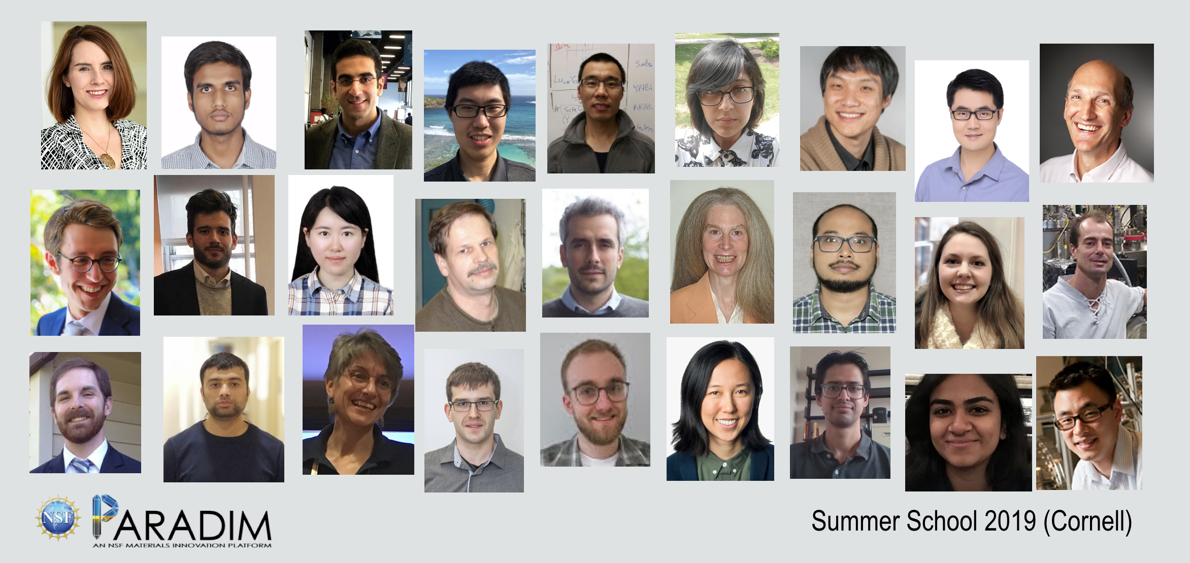 2019 CU Summer School group