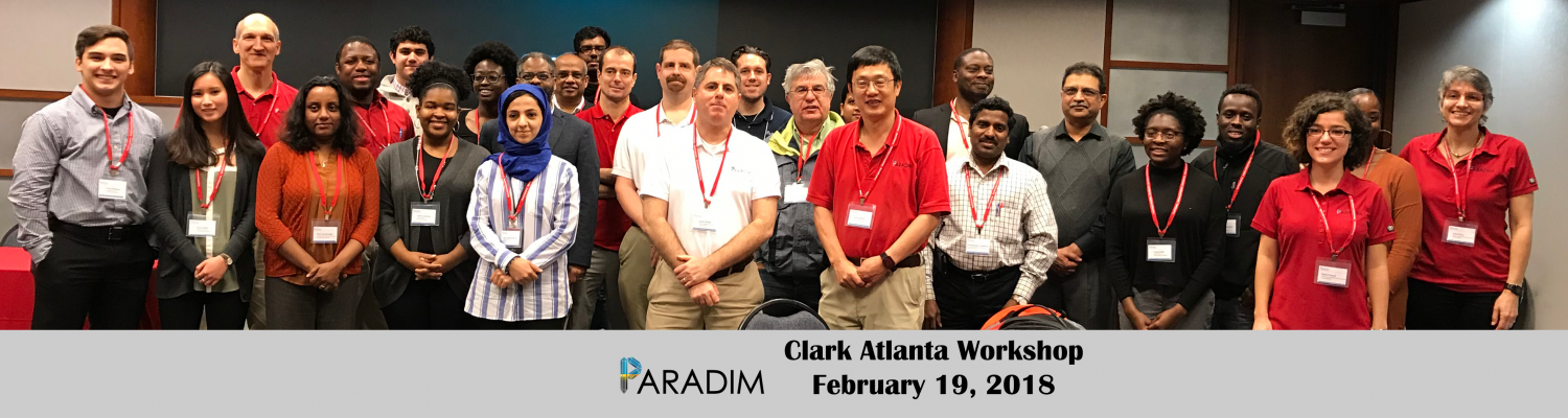 Clark Atlanta Workshop participants 2018